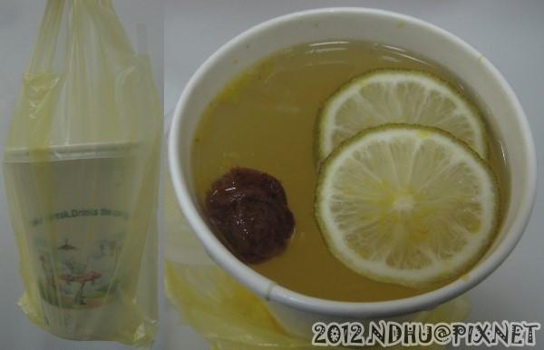 20120101_蒙愛果汁鋪_熱金桔檸檬汁(小杯500mL)25元
