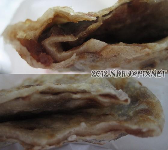20120116_台九餡餅蔥油餅_紅豆餅特寫