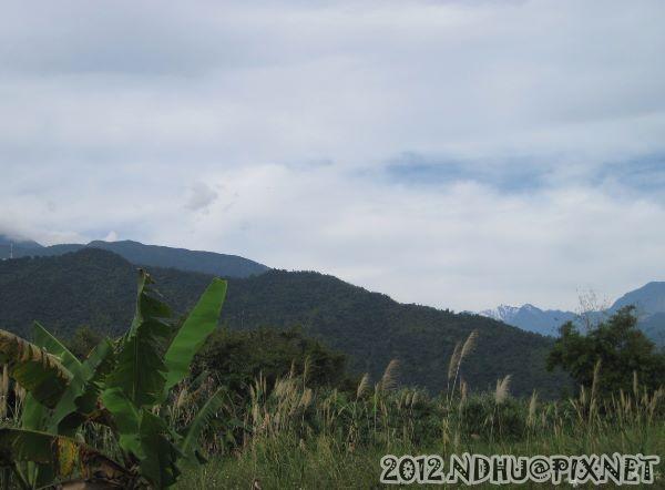 20120213_遠眺奇萊雪景+鯉魚山@久富