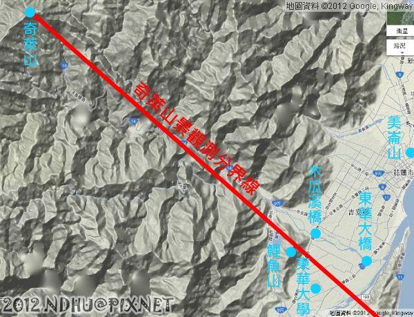 20120302_奇萊山景觀測分界線(大範圍)