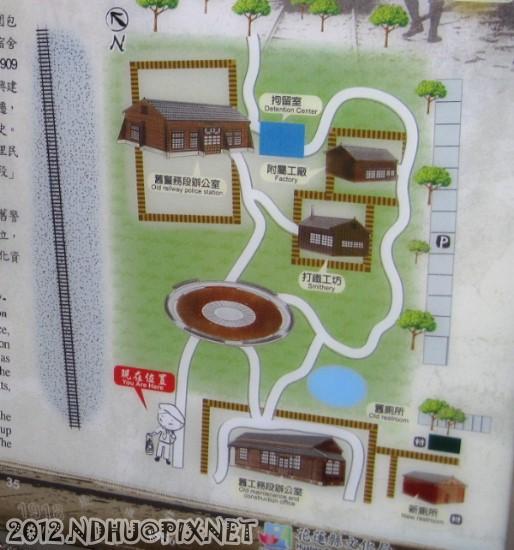 20120317_花蓮好事集_福建街入口的平面圖