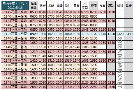20120513_花蓮客運東海岸線_下行