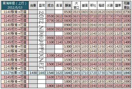 20120513_花蓮客運東海岸線_上行