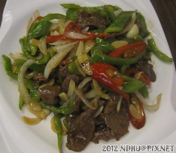 20120621_風味小館_青椒牛肉80元