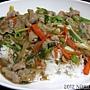 20120831_饈呷食坊_蔥燒豬肉蓋飯65元
