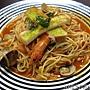 20120814_饈呷食坊_海鮮茄汁義大利麵75元