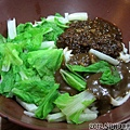 20120820_久裕小館_炸蔴麻雙醬麵(小)50元