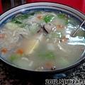 20121012_草屋_吻仔魚粥60元