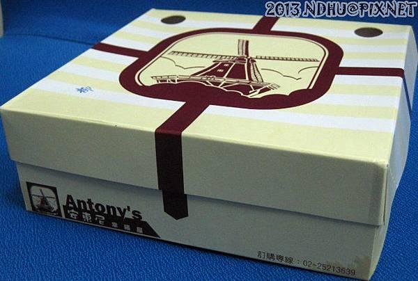 20130330_安東尼幸福屋花蓮店_柳橙起司蛋糕239元盒子
