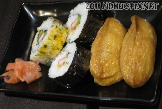 20110430_花田樂日式小舖-綜合壽司60元