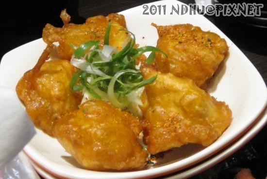 20110430_花田樂日式小舖-唐揚雞塊(五塊)70元