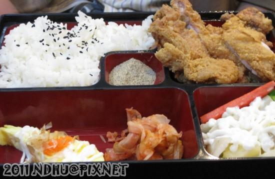 20110417_加賀日式料理香酥雞腿套餐120元