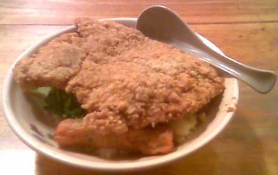 20091002_花蓮香豬排配菜飯60元
