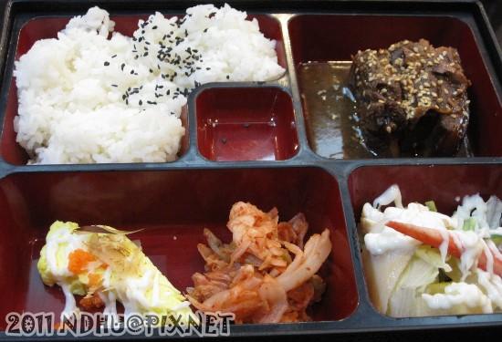 20110417_加賀日式料理東坡肉套餐120元