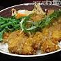 20110430_花田樂日式小舖-味噌豬排蓋飯90元