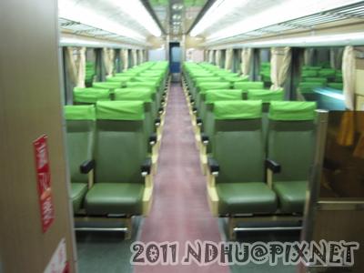 20110408 後面車廂一個人