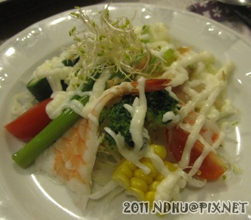 20110318_加賀日式料理定食-沙拉