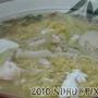 20101105_魚包蛋菇菇豬肝肉片蒸煮麵加麵60元