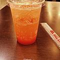 紅柚氣泡果汁