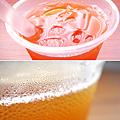 蜜桃蒟蒻冰茶