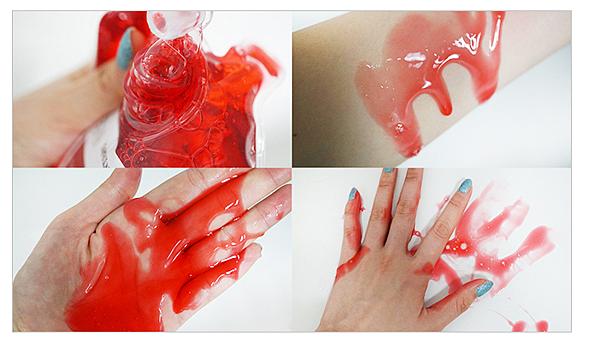 ♥ TONYMOLY 恐怖浴室~血袋沐浴乳 horror Fantasy Red Blood Wash ♥