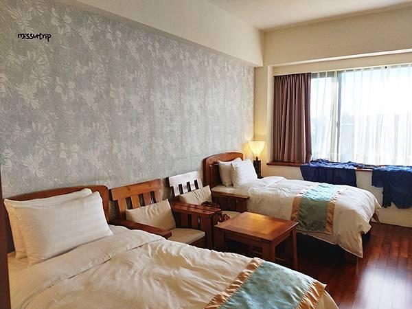 澎湖元泰大飯店櫃台雙人房