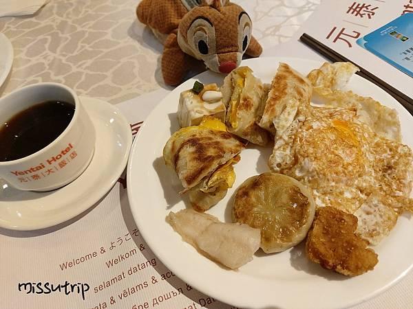元泰飯店早餐