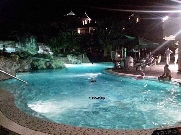 花蓮理想大地飯店  泳池