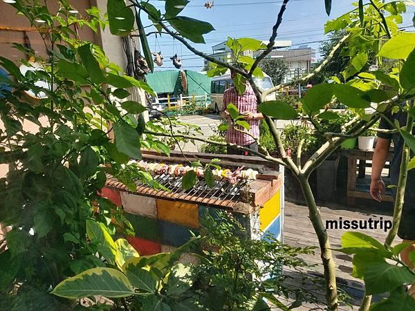 濟州島巨無霸烤黑豬肉串