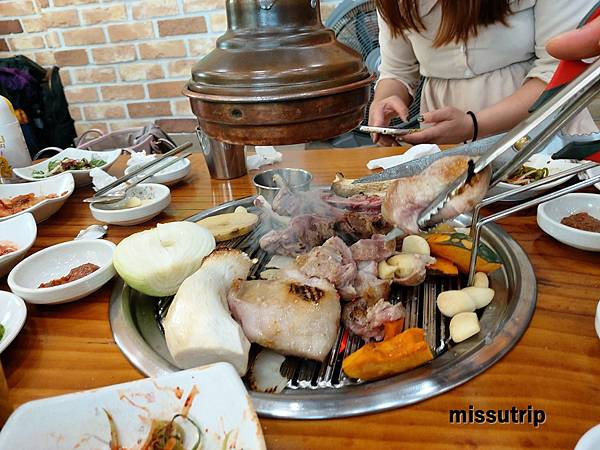 濟州島巨無霸烤肉串