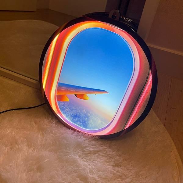 飛機窗造型 LED燈