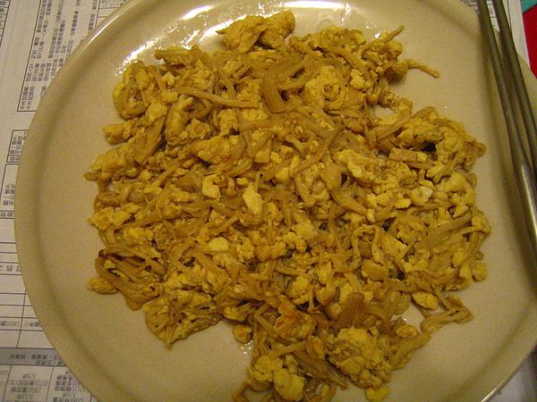 金針菇炒蛋