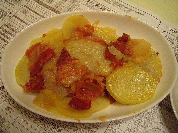 20101116培根煎馬鈴薯
