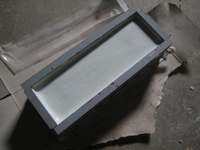 鐵板開模灌漿 DIY - 11