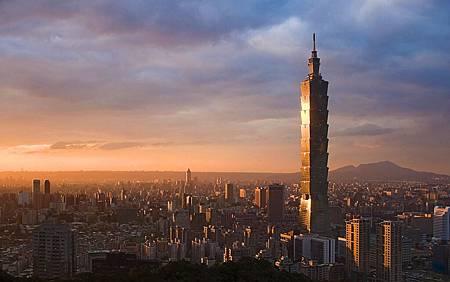 漂亮的台北城市