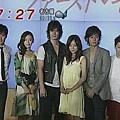 めざましテレビ播的製作發表會畫面 (070307)