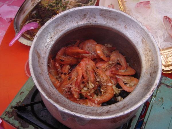 美味活跳蝦