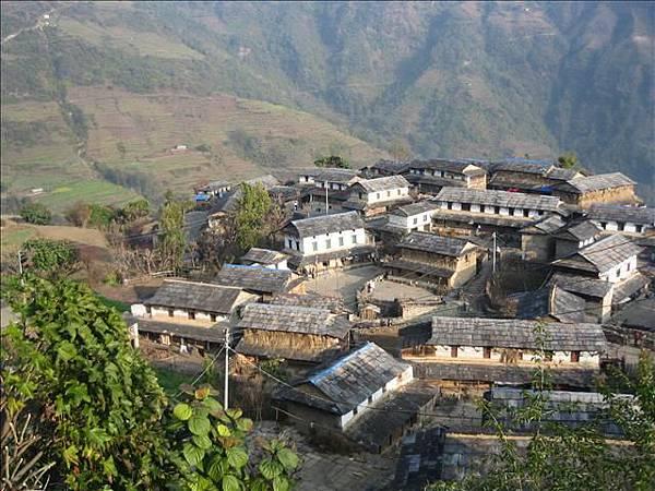 下面的村莊