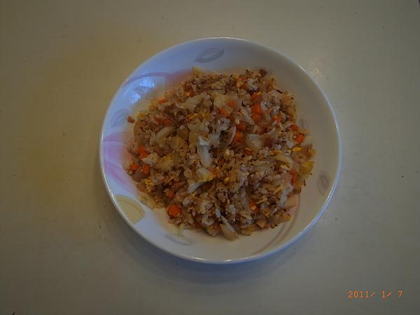 培根蛋炒飯