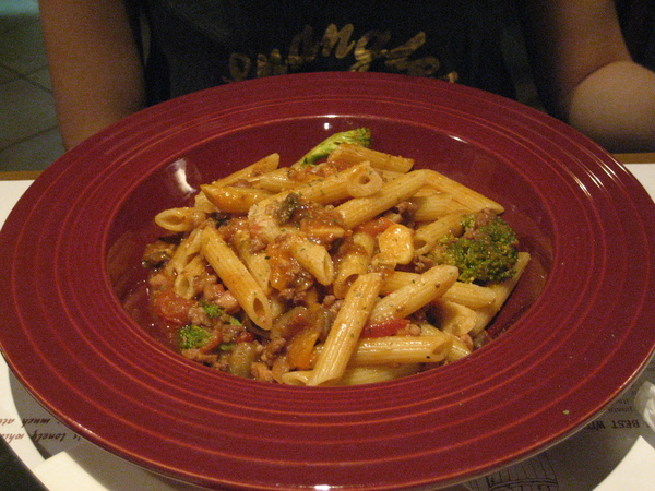 蘋果燉章魚肉醬麵
