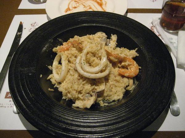 米蘭奶油海鮮鬱金香燉飯