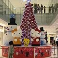 夢時代的聖誕樹
