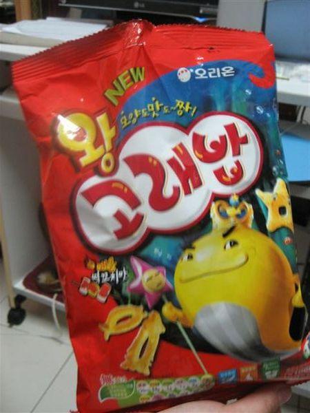 姊姊從韓國帶回來的零食-3