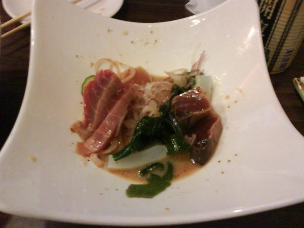 日式生魚片