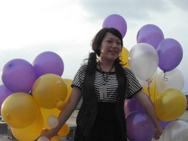 氣球很夢幻