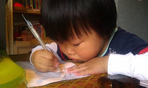 媽媽,作業好多寫不完…