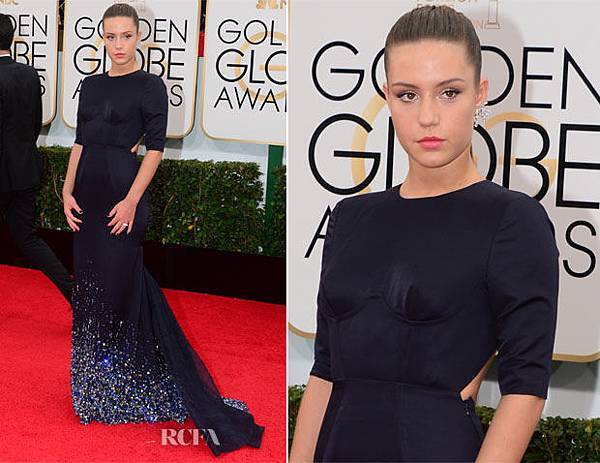 Adèle-Exarchopoulos-In-Miu-Miu-2014-Golden-Globe-Awards
