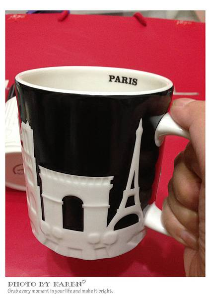 巴黎限定馬克杯2