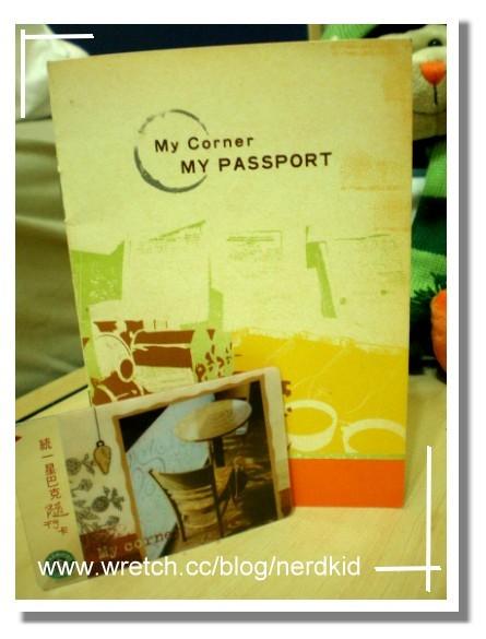 My Coner Card & My Passport
