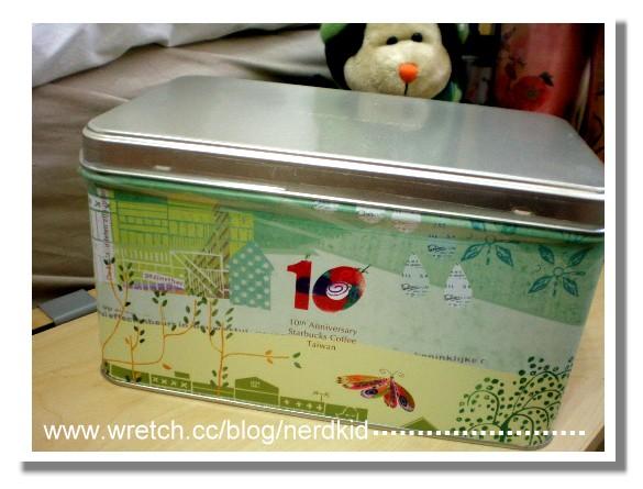 十周年蛋捲鐵盒